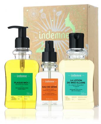 coffret routine de soin beauté, base lavante, eau micellaire et lotion tonique bio