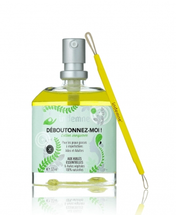 Soin naturel anti acné et cicatrisant - Déboutonnez-moi et domino - 100% naturel