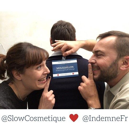 Slow cosmétique soutient Moussaillon le savon Indemne