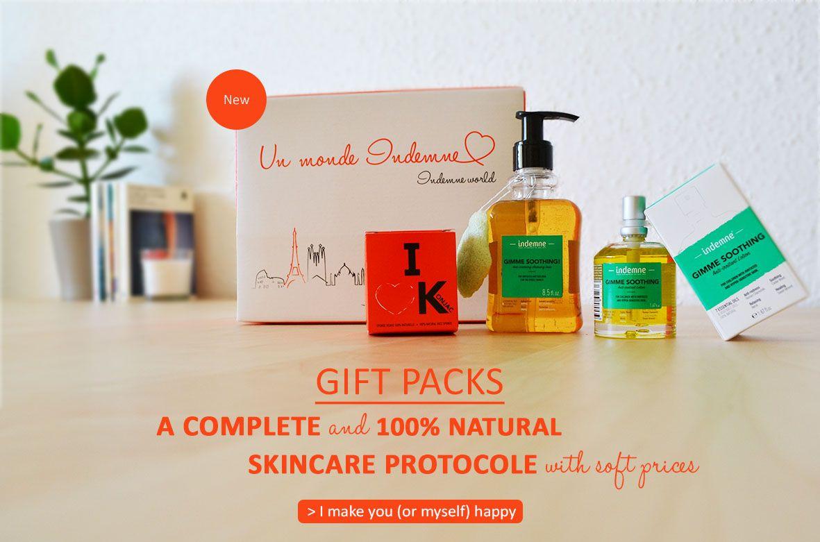 Offer a gift set for Christmas - Indemne