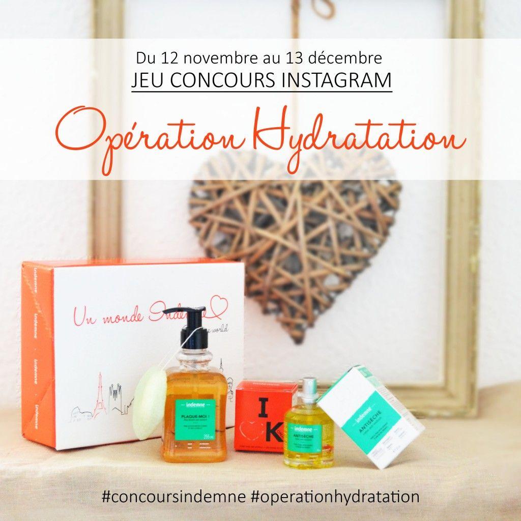 jeu concours instagram_opération hydratation indemne
