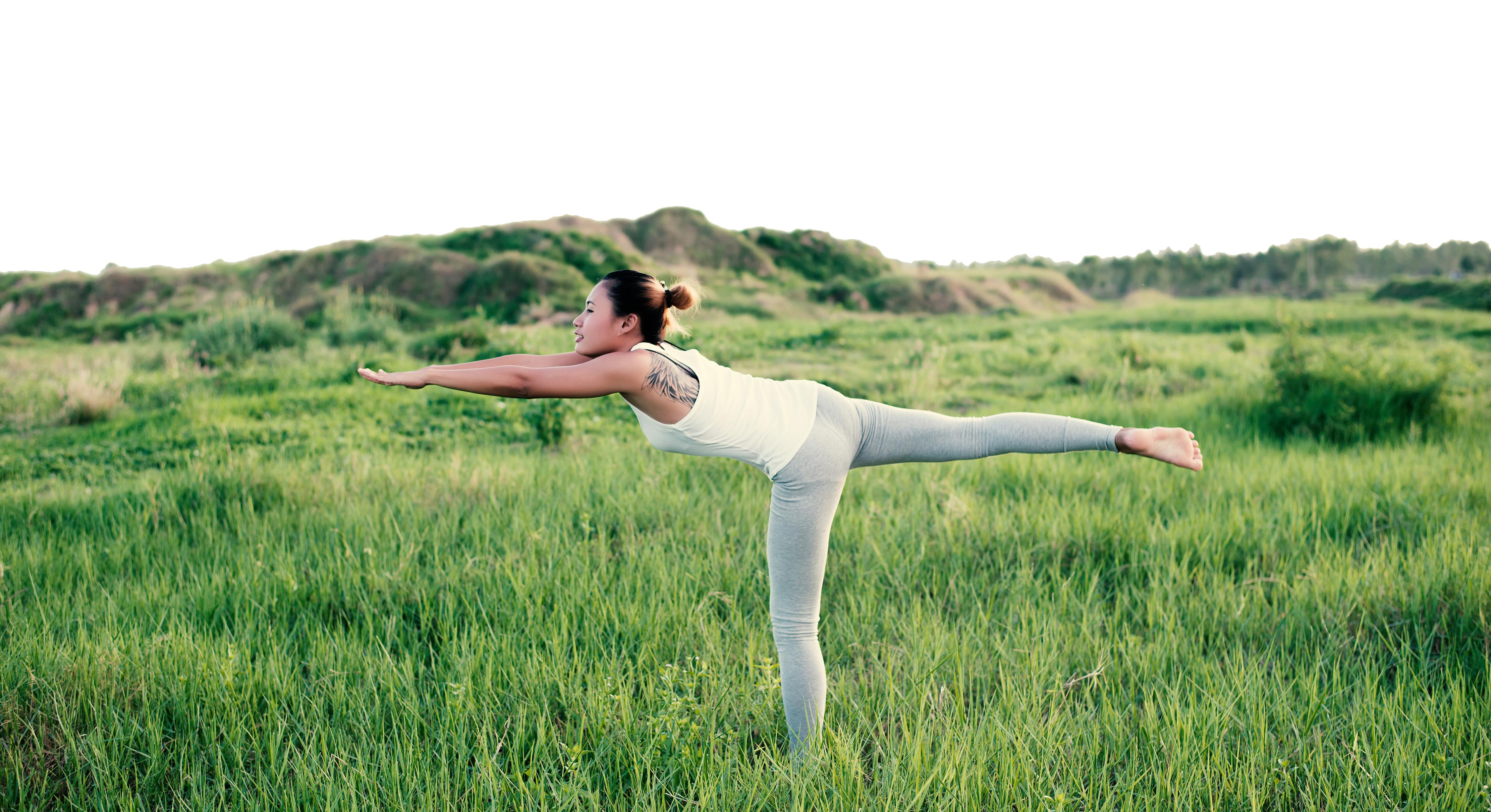 woman legs sport