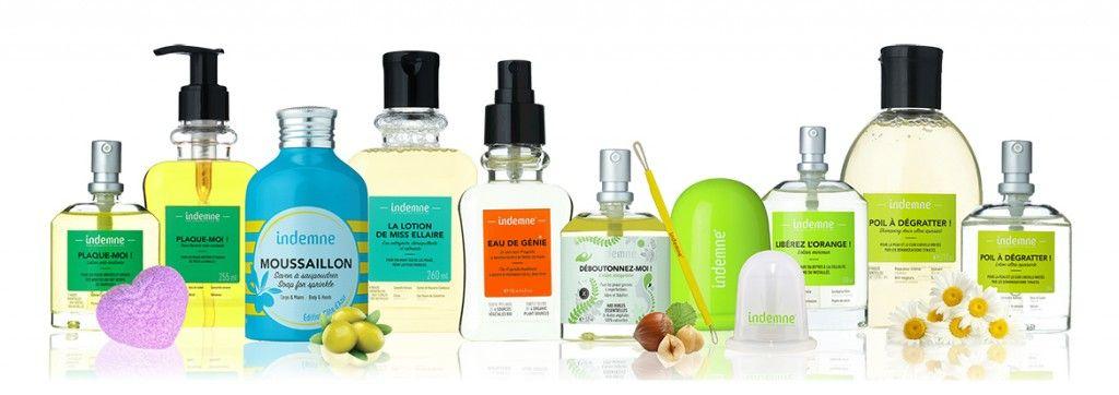 Indemne Cosmétiques naturels pour les problèmes de peau