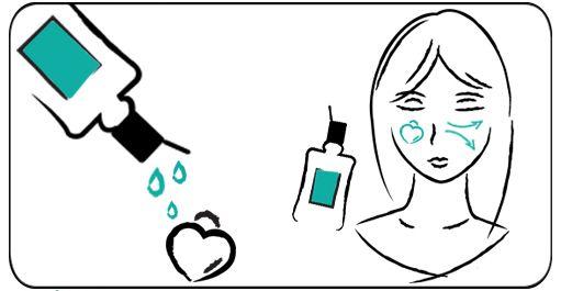 Utilisation lotion de Miss Ellaire