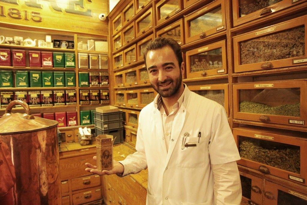 Cyril Coulard pharmacien et herboriste du Père Blaize