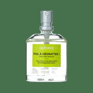 La lotion Poil à Dégratter ! est parfaite pour lutter contre les démangeaisons, irritations et rougeurs de la peau