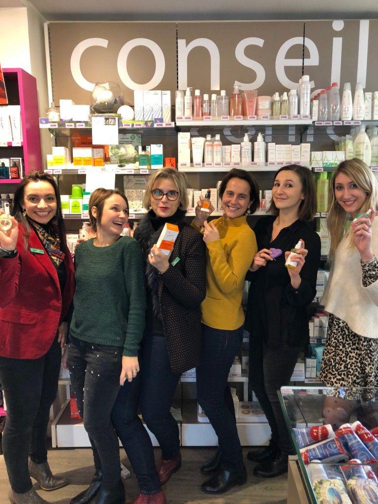 Equipe 100% féminine de la Pharmacie de Mauvendière