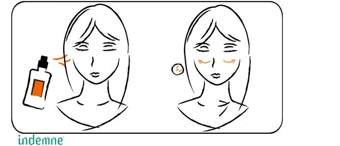 Routine beauté eau tonique naturelle et bio pour parfaire le nettoyage et démaquillage du visage, rafraîchit et tonifie la peau