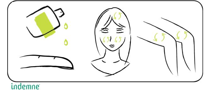 Huile naturelle réparatrice et apaisante pour lutter contre les démangeaisons et irritations du cuir chevelu et de la peau