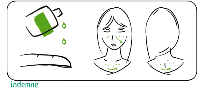 Routine beauté, déboutonnez-moi huile naturelle pour peaux grasses à imperfections, acné