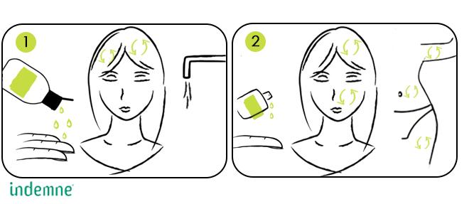 Cure beauté soins naturels pour les démangeaisons et irritations de la peau et du cuir chevelu