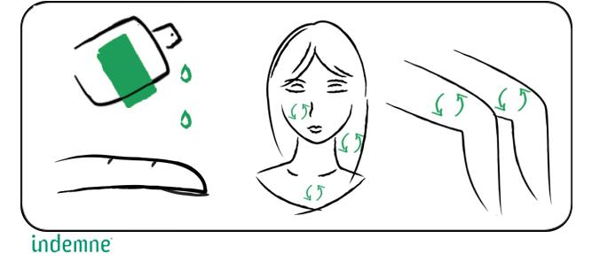 Lotion multiusage naturelle pour nourrir et protéger les peaux sensibles, sèches et les cheveux