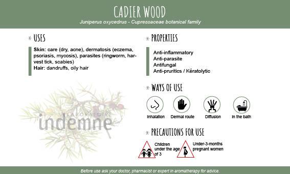 Cadier wood essential oil