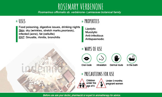 Rosemary verbenone essential oil