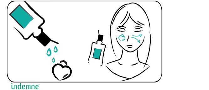 Lotion de Miss Ellaire eau micellaire naturelle démaquillante Indemne