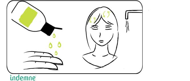 shampoing naturel et doux poil à dégratter indemne