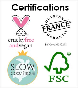 certifications et labels Indemne